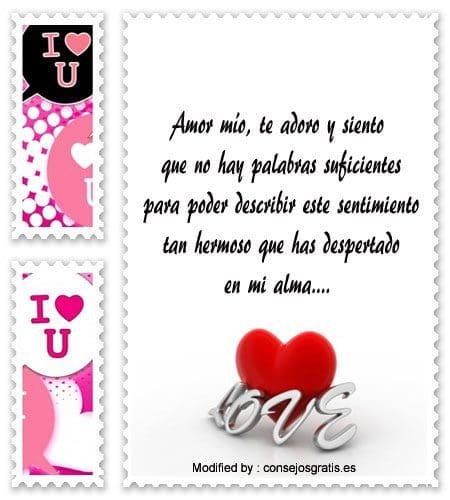 Carta para un amor. Postal para su disfrute, descargarlas y compartirlas en  tus…