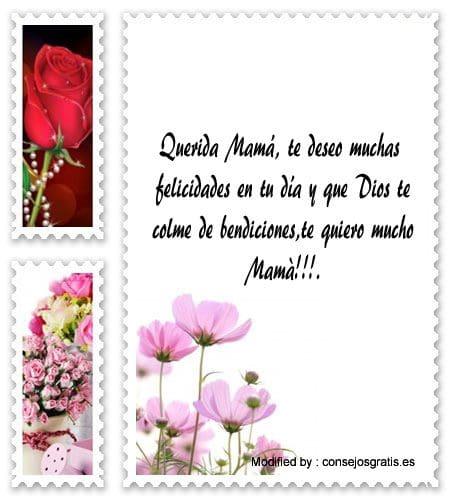 lindas dedicatorias por el Día de la Madre para Facebook, palabras bonitas por el Día de la Madre para Facebook