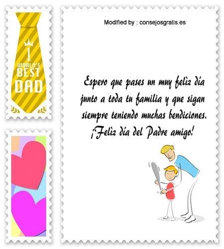 originales mensajes por el Día del Padre para un Papá primerizo
