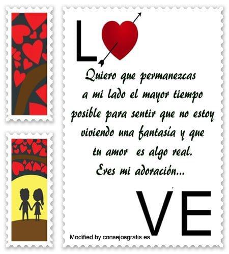 Tarjetas con mensajes para mi amor frases para - Cosas para sorprender a mi pareja ...