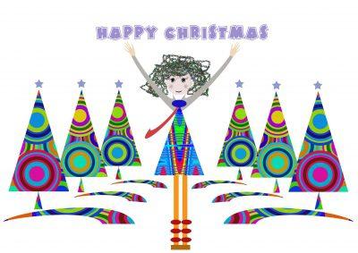 Postales Con Mensajes  y Textos de Navidad