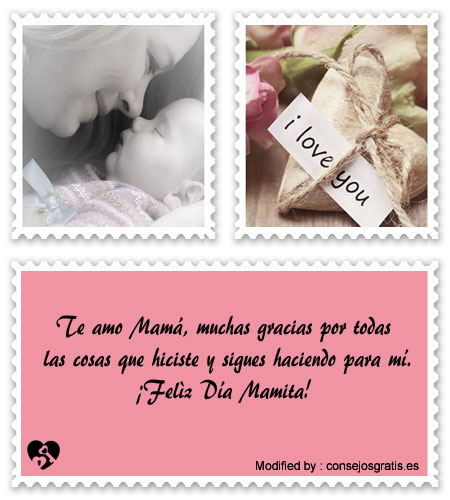 descargar mensajes bonitos para el dia de la Madre,mensajes de texto para el dia de la Madre