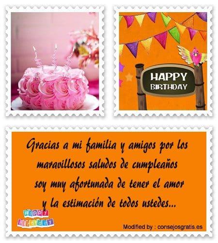 mensajes de texto de agradecimiento de cumpleaños,palabras de agradecimiento de cumpleaños,
