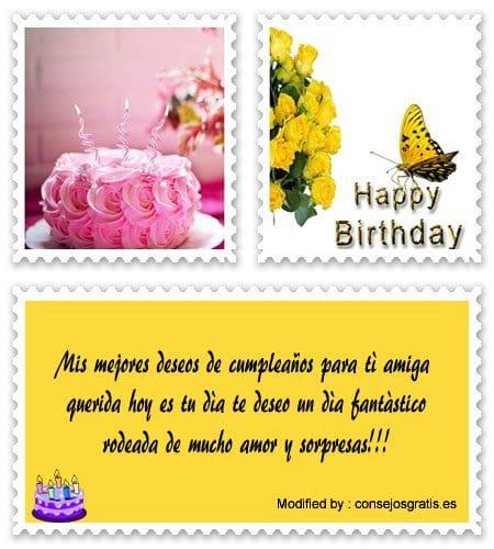 bajar saludos de cumpleaños para mi amiga para whatsapp