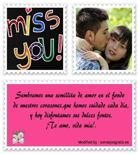 mensajes de amor bonitos para enviar