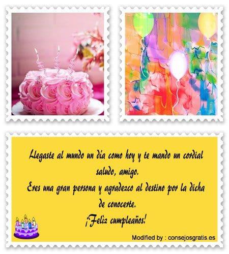 textos de feliz cumpleaños para enviar