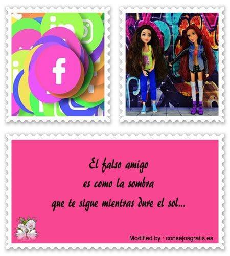 bonitas dedicatorias de amistad para facebook
