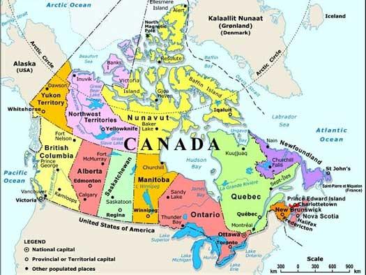 Residencia en Canada,Visa de residente en Canada