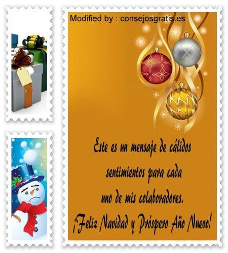 buscar bonitos textos para enviar en Navidad empresariales