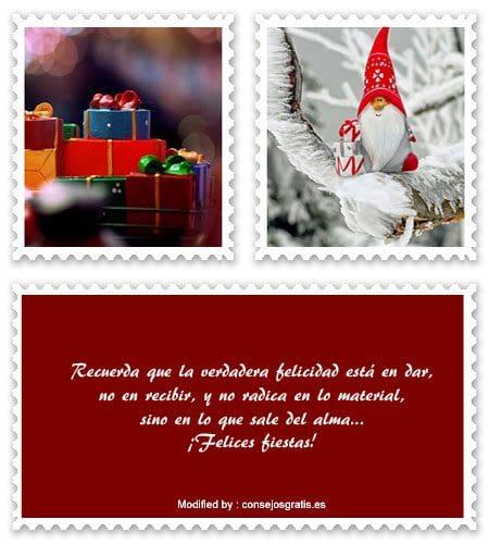 buscar imàgenes para enviar en Navidad