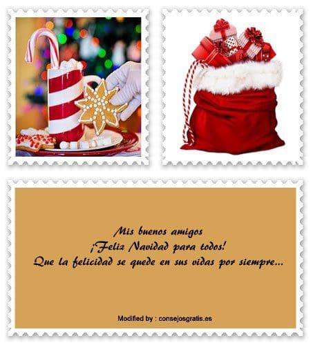 sms bonitos para enviar en Navidad