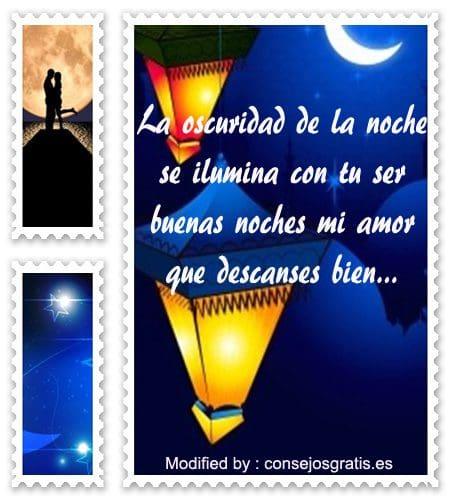 Mensajes Cortos De Buenas Noches Mi Amor Frases De Buenas Noches