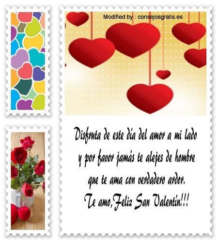 tarjetas y mensajes del dia del amor y la amistad
