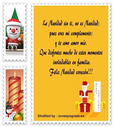 frases bonitas para enviar en Navidad a mi esposa,carta para enviar en Navidad a mi esposa
