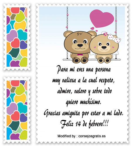 Postales Con Mensajes De Amor Y Amistad Para Una Amiga San