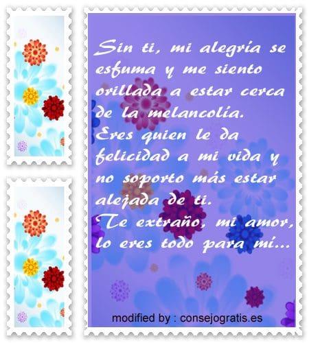 Postales Con Mensajes De Me Haces Falta Amor Frases De Amor