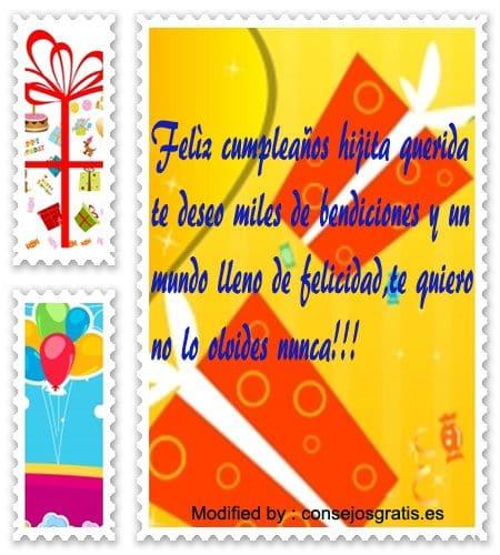 felicitaciones y buenos deseos de cumpleaños para mi hija