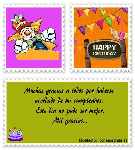 descargar mensajes de agradecimiento de cumpleaños para enviar