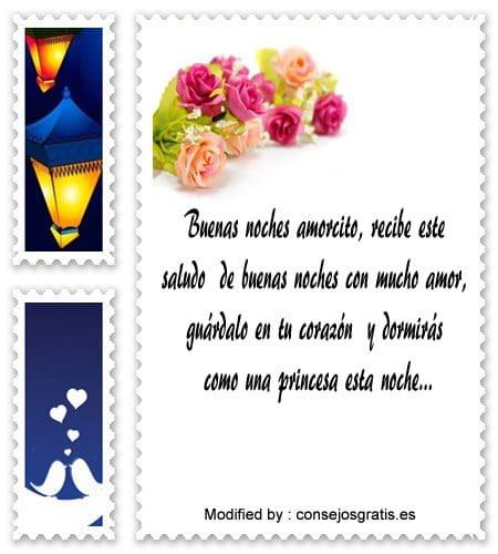 Bonitos Mensajes De Buenas Noches Para Mi Amor Frases De Buenas