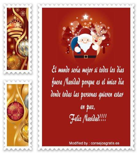 mensajes de texto para enviar en Navidad