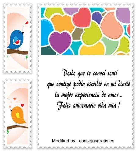 Nuevos Mensajes Romànticos Por El Aniversario De Novios