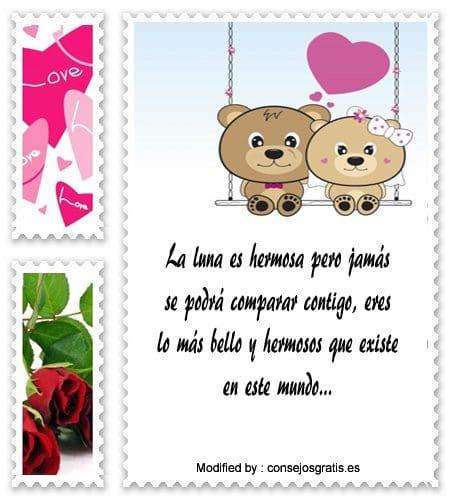 textos de amor gratis para enviar por celular