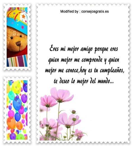 bonitas dedicatorias de cumpleaños para mi amigo,enviar mensajes de cumpleaños para mi amigo