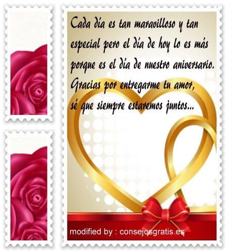 Mensajes De Aniversario Para La Pareja Frases Romanticas