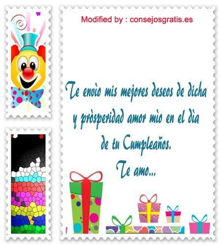 Cartas De Cumpleaños Para Mi Novio Mensajes De Cumpleaños