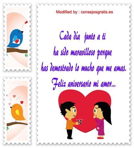 mensajes de texto de aniversario de novios,palabras de aniversario de novios