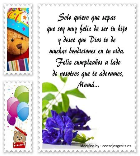 Bonitos Mensajes De Cumpleaños Para Mi Mamá Saludos De Cumpleaños Consejosgratis Es