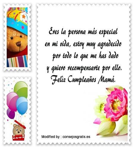 Bonitos Mensajes De Cumpleaños Para Mi Mamá Saludos De