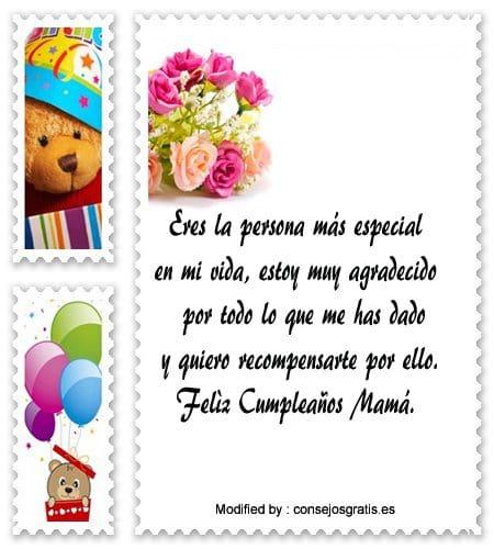Feliz Dia De Gracias >> Bonitos Mensajes De Cumpleaños Para Mi Mamá | Saludos De Cumpleaños | Consejosgratis.es