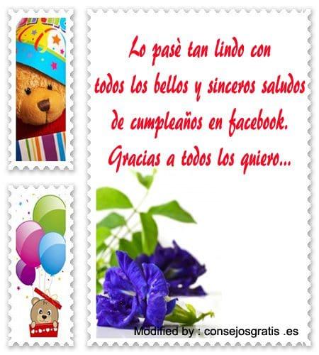 Top Agradecimientos De Cumpleaños Tarjetas De