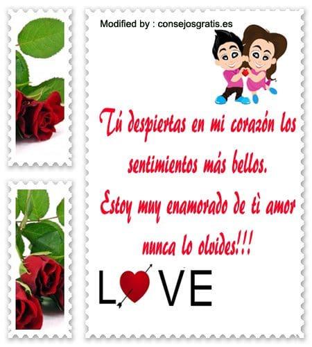 descargar bellas imàgenes con frases romànticas para mi novia,tarjetas con mensajes de amor para mi novio