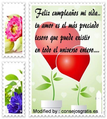 Carta para feliz cumpleanos amor