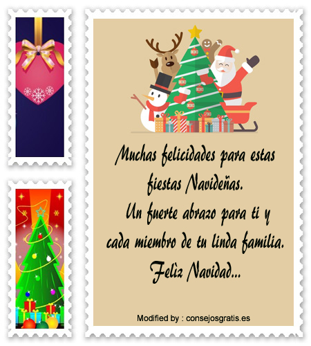 palabras para enviar en Navidad