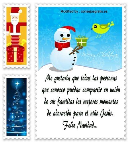 poemas para enviar en Navidad