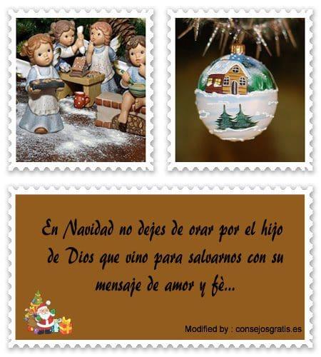 carta para enviar en Navidad