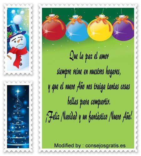 Tarjetas Con Frases De Feliz Navidad Y Año Nuevo Consejosgratises