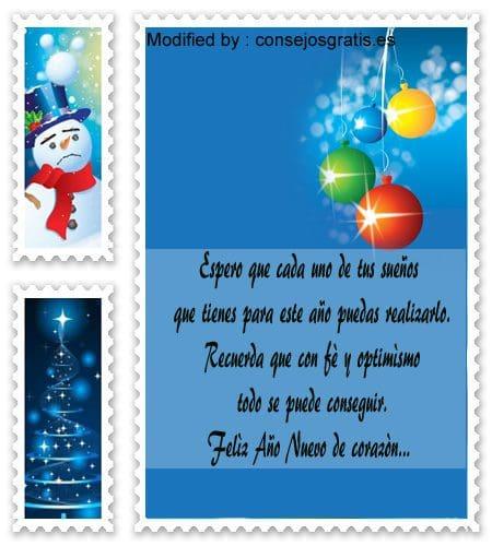 Tarjetas Con Frases De Feliz Navidad Y Año Nuevo