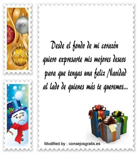 buscar bonitas frases para enviar en Navidad