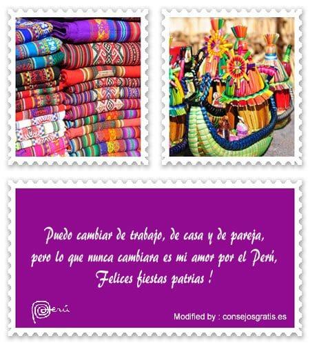 feliz 28 de Julio,palabras de fiestas patrias Peruanas