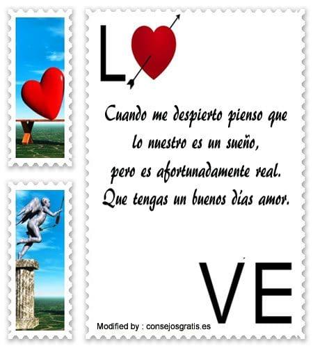 Frases De Buenos Dias Para Mi Amor Mensajes De Buenos Dias