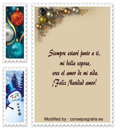 palabras para enviar en Navidad a mi novio