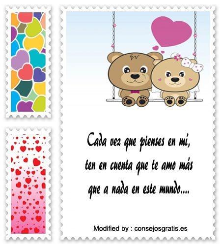 Los Mejores Mensajes De Amor Para Mi Novia Frases De Amor