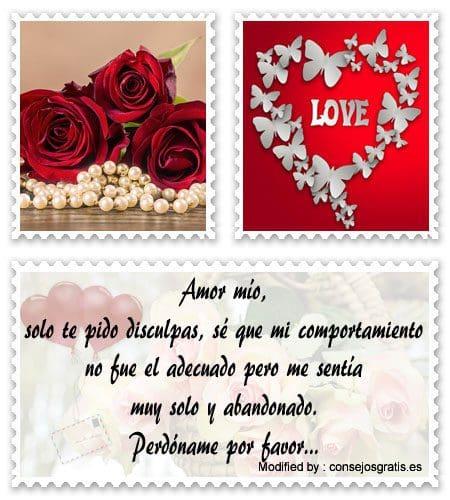 Frases De Amor Para Pedir Perdon A Mi Novio Mensajes De