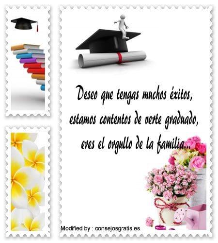 mensajes bonitos para graduaciòn para compartir