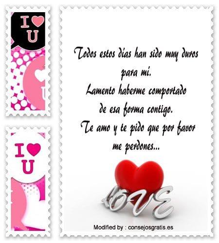 Lindas Cartas Cortas De Perdòn De Amor Frases Para Pedir Perdòn