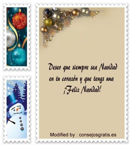 Tarjetas bonitas para enviar en Navidad